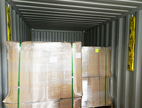 container desiccant application