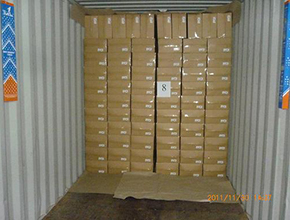 container desiccant application pictures